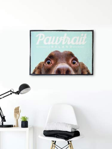 Dog gifts for the wall