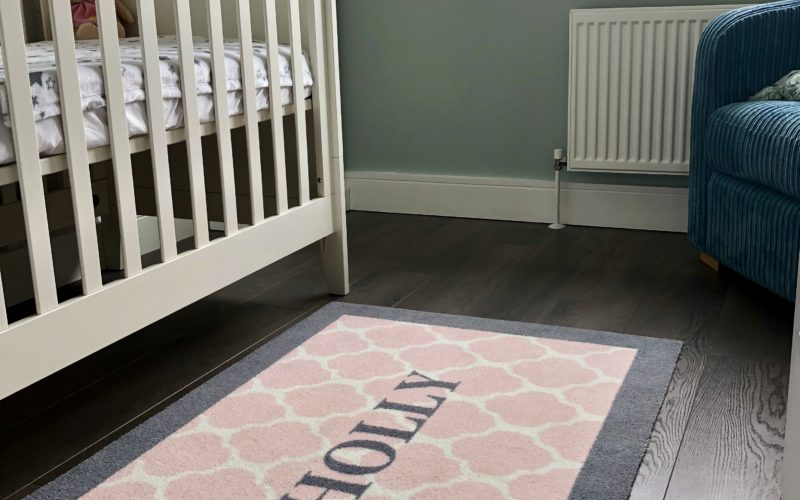 Personalised Nursery Rugs are a unique momento