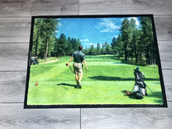 Custom Golf Mat