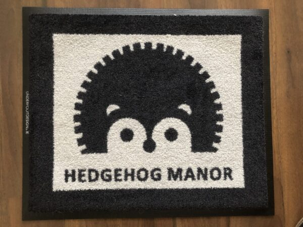 Custom Hedgehog Mat