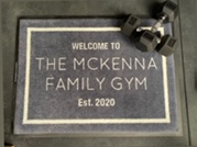Custom Gym Mat